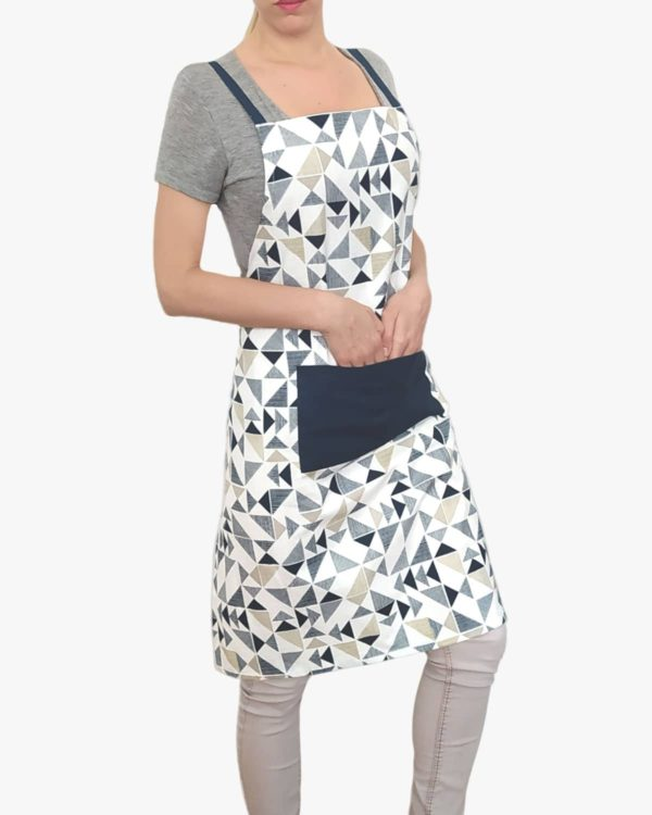 Azure-Organic-Cotton-Apron-Pockets-Ties-Front-A
