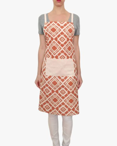 Brique-Organic-Cotton-Apron-Pockets-Ties-Front-A