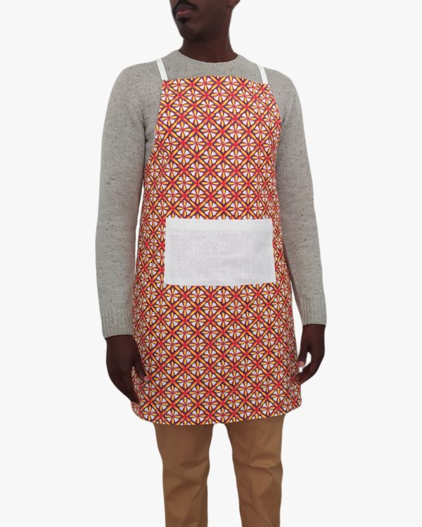 Confetti-Organic-Cotton-Apron-Pockets-Ties-Front-Male