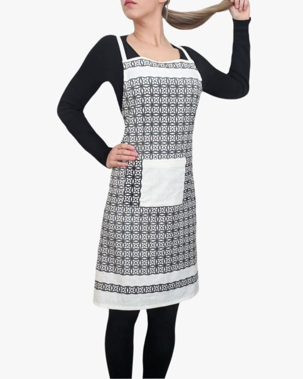 Santorini-Organic-Cotton-Apron-Pockets-Ties-Front